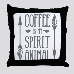 spirit animal [2] Throw Pillow